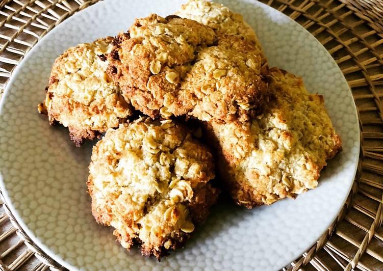 Cookies avoine coco