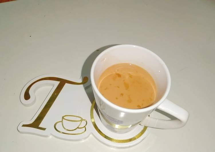 Simple Way to Make Most Popular Elaichi karak chai,1dhs UAE special Tea, شائ کرک