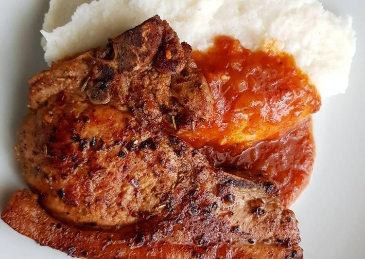 Step-by-Step Guide to Prepare Speedy Pork chop