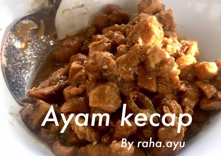 Ayam Kecap Serbaguna (simpel sekaleww)