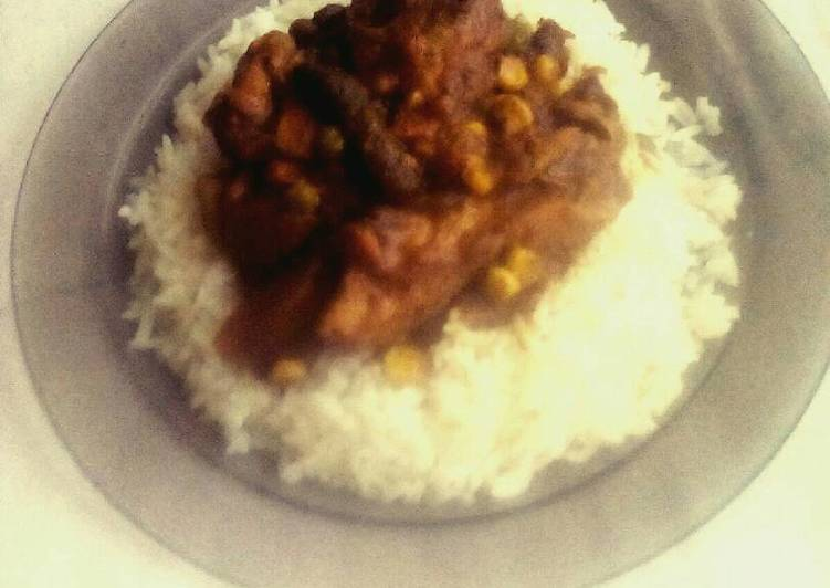 How to Make Homemade Chicken Curry and Rice