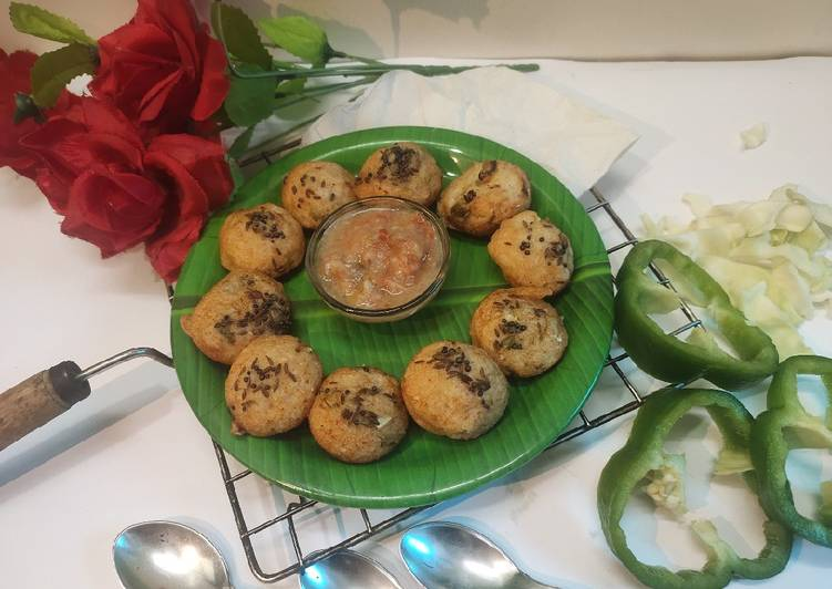 5 Minute Steps to Prepare Autumn Suji Appe