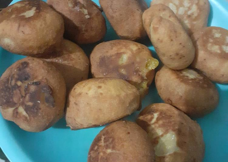 Bagaimana Membuat Roti Goreng Custard, Bikin Ngiler