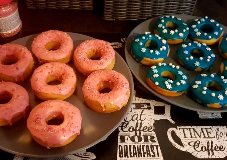 Recette Délicieux Donuts a la vanille au four