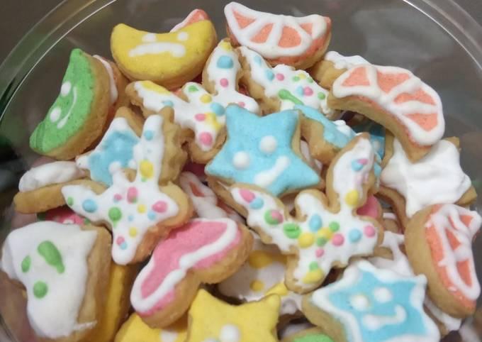 Cookies icing sugar