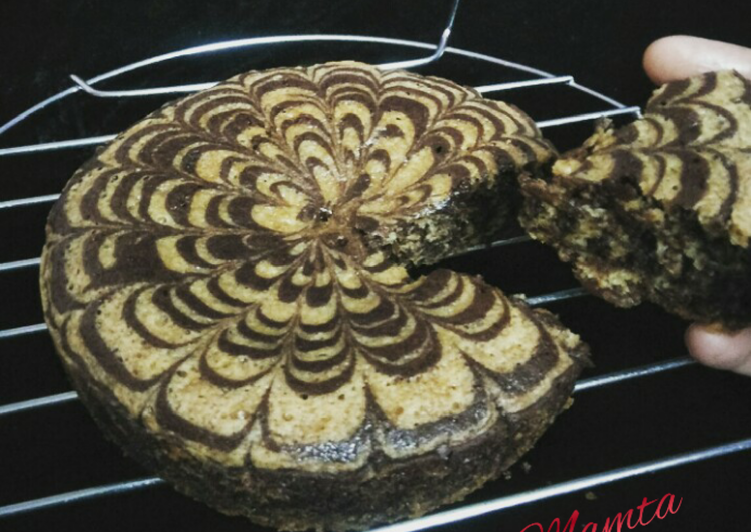 Easiest Way to Prepare Award-winning Eggless Marble Cake