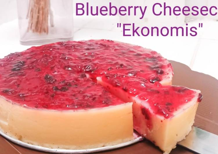 Blueberry Cheesecake Ekonomis - cookandrecipe.com