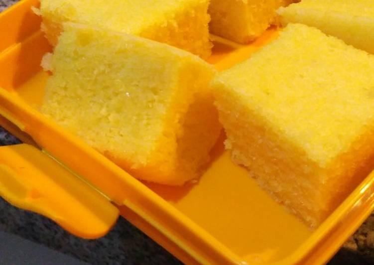resep memasak Bolu keju cheddar kukus - Sajian Dapur Bunda