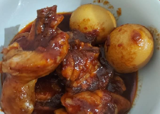 Ayam masak habang/merah