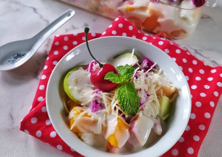 Creamy Fruit Salad - cookandrecipe.com
