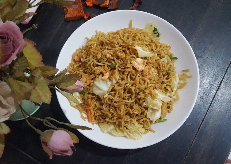 Resep Mie goreng Udang Paling dicari