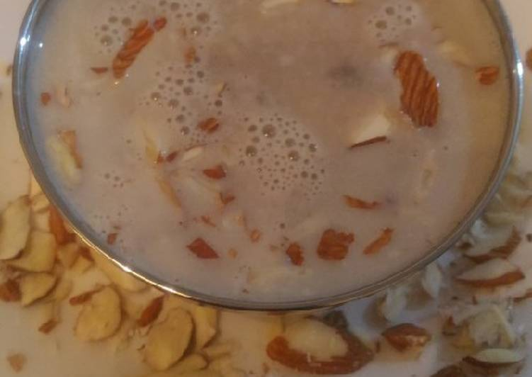 Easiest Way to Make Favorite Mushroom Almond Soup