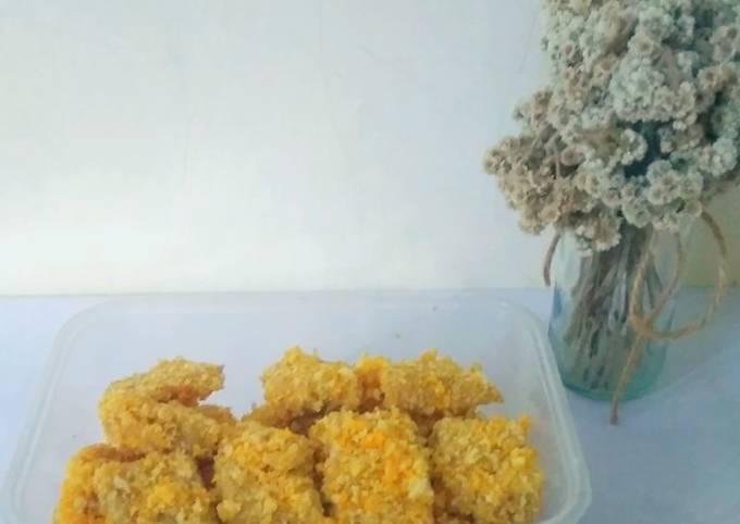 Chicken nugget homemade (tanpa blender atau coper) ~ 🐥