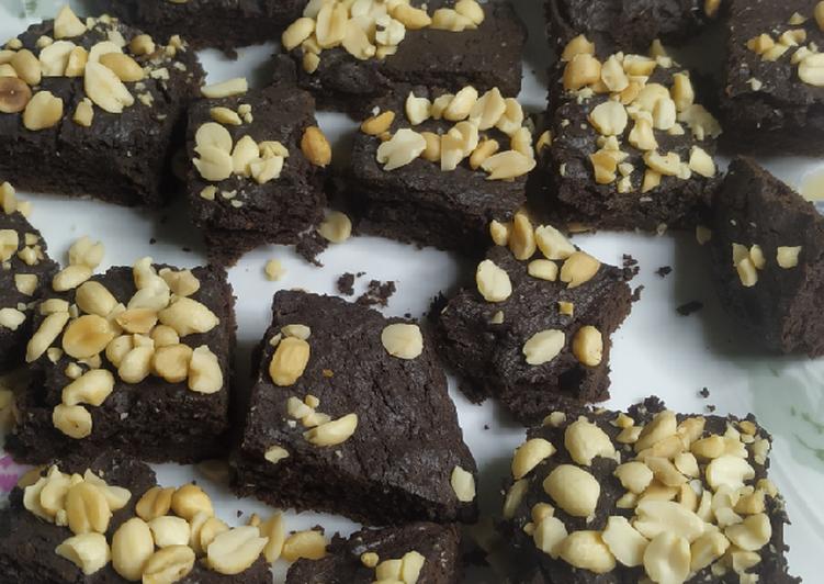 Brownies Panggang Teflon (No Oven No Mixer)