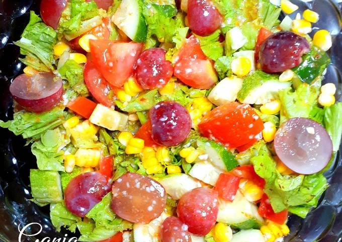 Vegetable Grape Salad