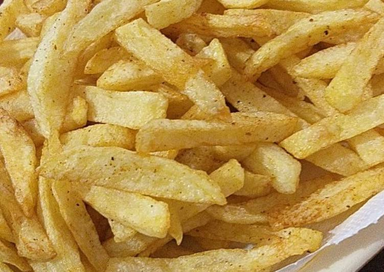 The Best Soft and Chewy Dinner Easy Royal French fries