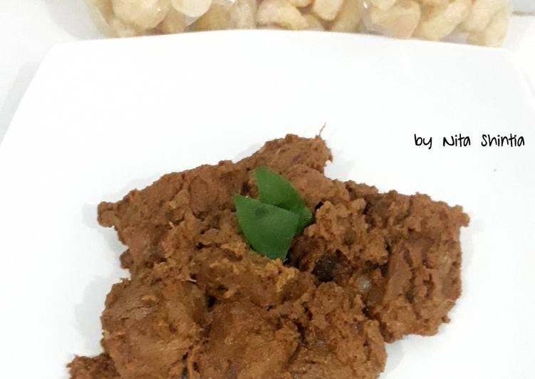 Rendang Daging (bumbu giling)