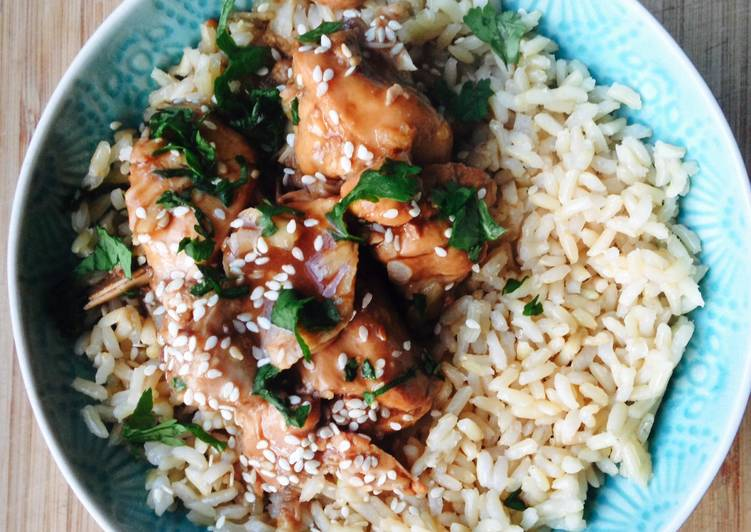 Recipe of Any-night-of-the-week Slow Cooker Chicken Teriyaki