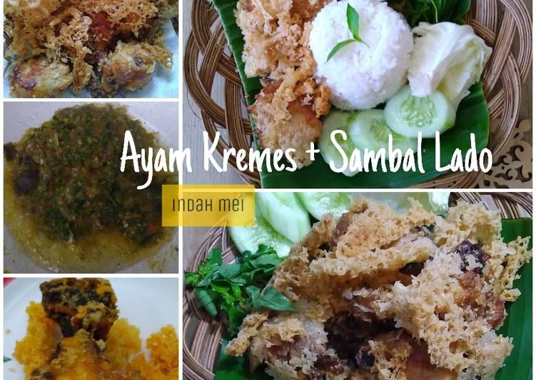 Ayam Kremes + Sambal Lado
