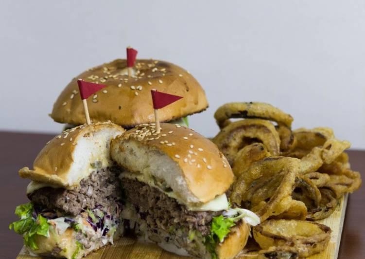 Easy Comfort Dinner Ideas Vegan American lamb cheese burger