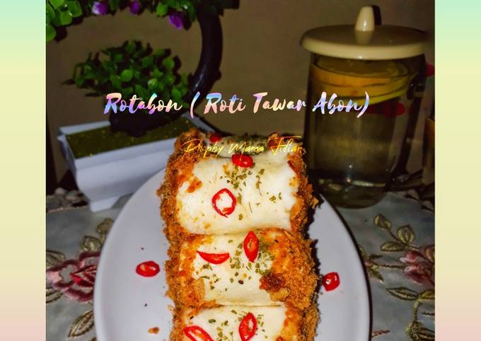 Rotabon(Roti Tawar Abon)