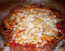 Pizza sin gluten/low carb/keto/paleo