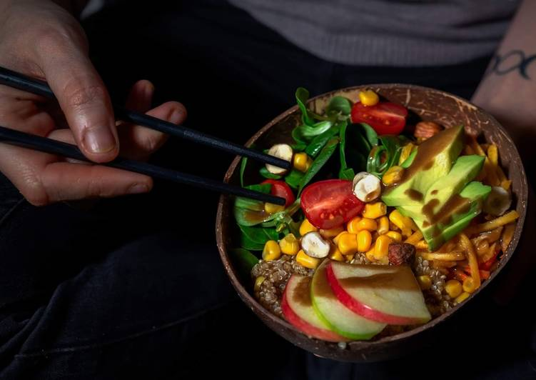 Recipe: Appetizing Buddha Bowl