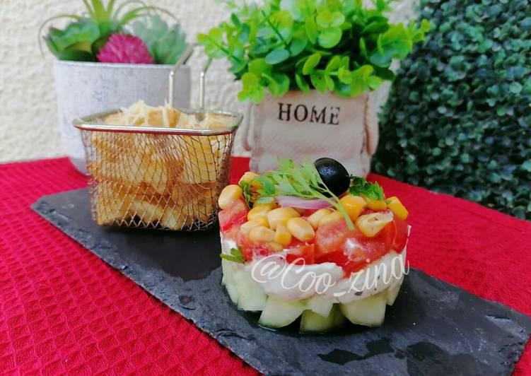 Salade fraîcheur d'été