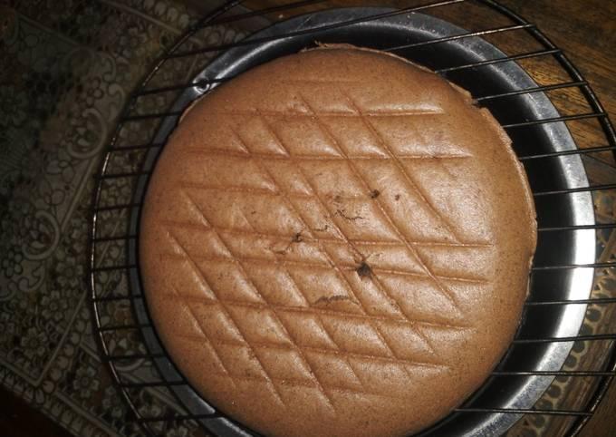 Chocolate sponge cake tanpa sp/bp/soda