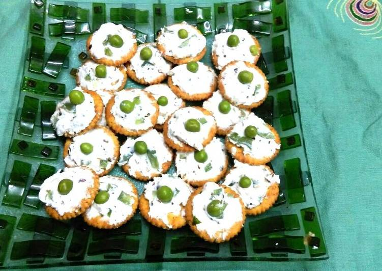 Biscuits canapes