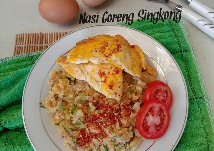 Nasi Goreng Singkong