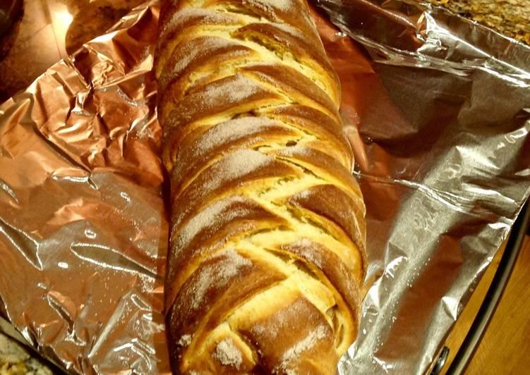 Recipe of Favorite Braided Apple Bread