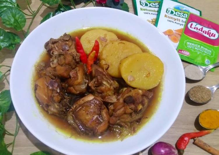 Semur Ayam Simple