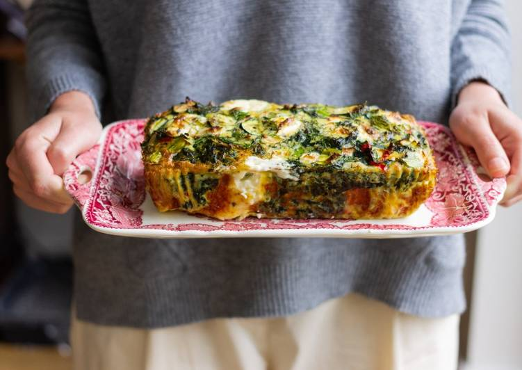 Recipe of Any-night-of-the-week María's vegetable terrine