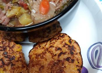 Easiest Way to Prepare Tasty Loaded Johnny Cakes