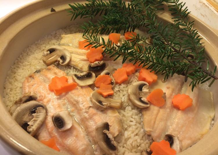 The Food Items You Select To Feed On Are Going To Effect Your Health Cooked Rice Flavoured with Rainbow Trout by Coozy Life