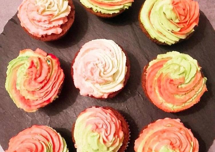 Comment Faire Des Cupcake fleur à la vanille et pépites de chocolat