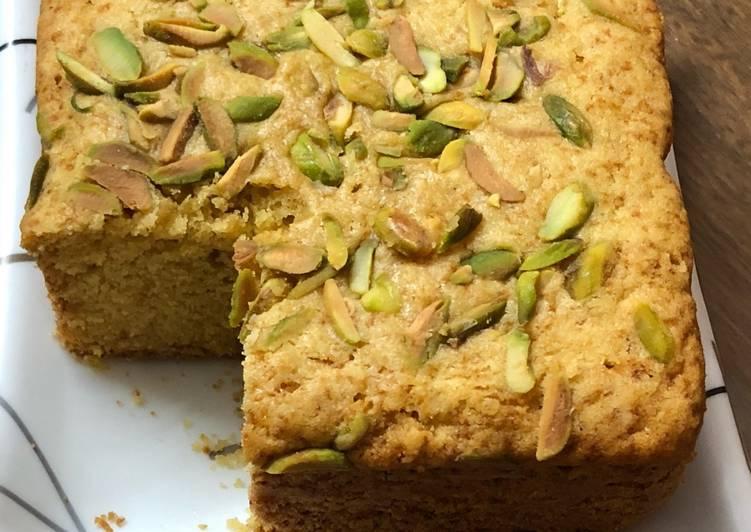 Recipe of Perfect Malai Custard Cake – No Oil Cake – Eggless Tea Time Pressure Cooker Cake