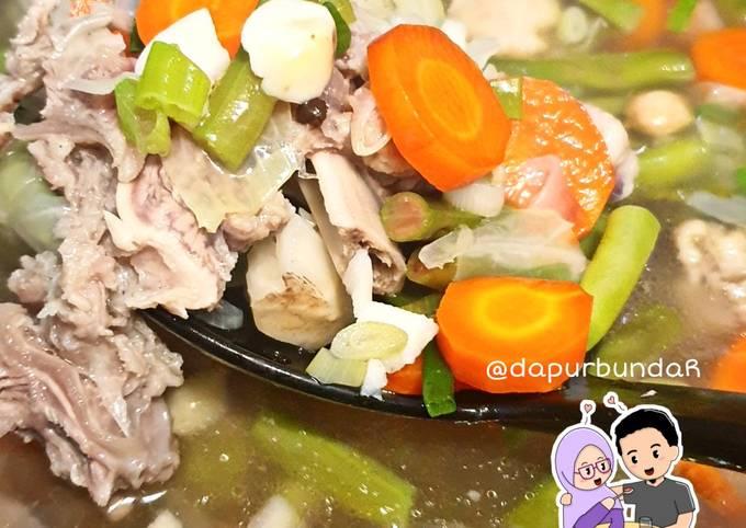 sayur sop daging bening - resepenakbgt.com