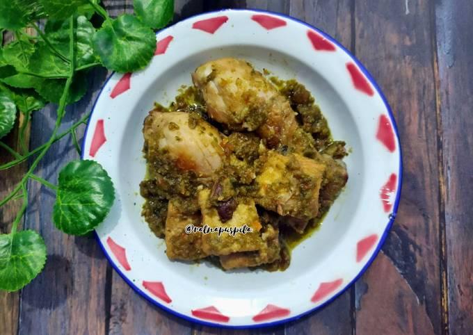 Ayam Tahu Sambal Ijo