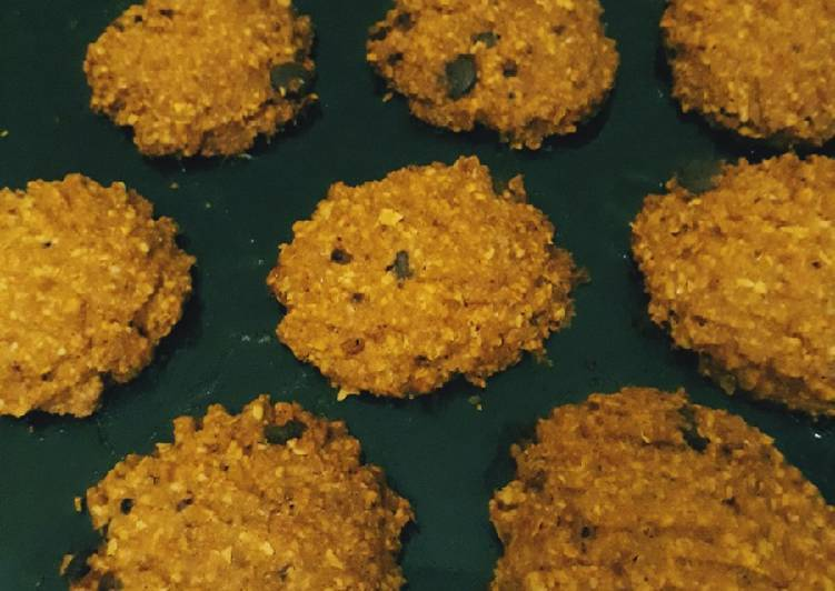 Oat chocochips cookies