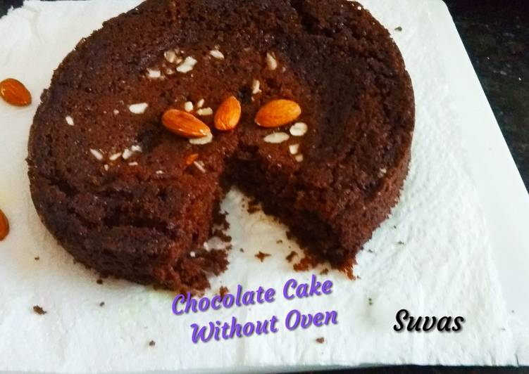 15 Minute Recipe of Diet Perfect Chocolate Cake Without Oven From Bourbon Biscuits