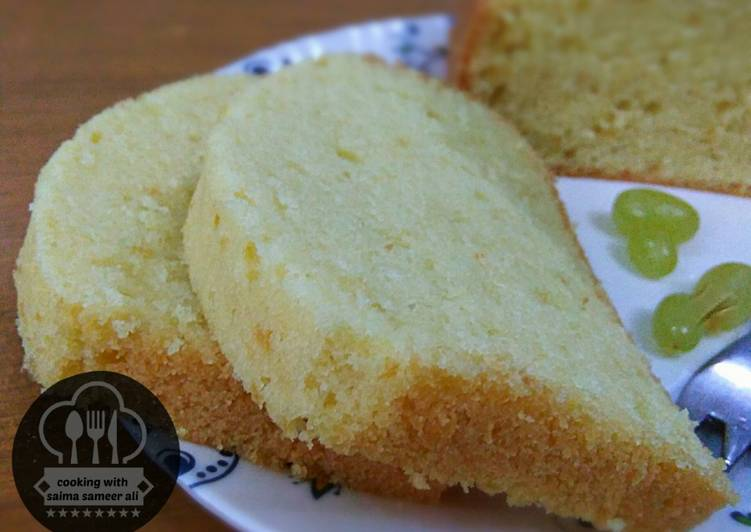 Simple Way to Make Quick Steamed tea cake
