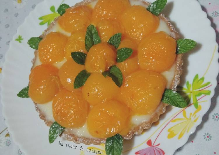 La Meilleur Recette De Tarte aux abricots frais