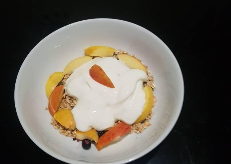 Easiest Way to Prepare Favorite Healthy Breakfast
