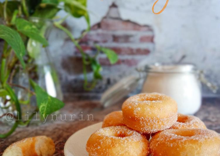 Resepi:  Donut gula  2021