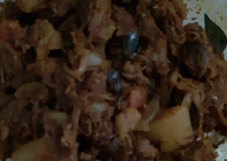 Kerala Beef potato roast