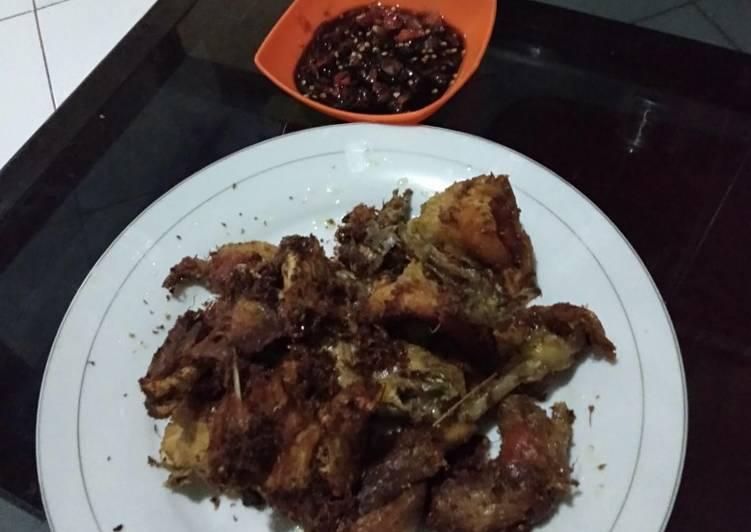 Ayam goreng presto