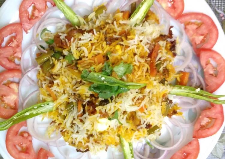 10 Minute Simple Way to Prepare Autumn Hyderabadi dum biryani