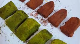 Hình ảnh món Bánh gạo 2 vị cacao và matcha